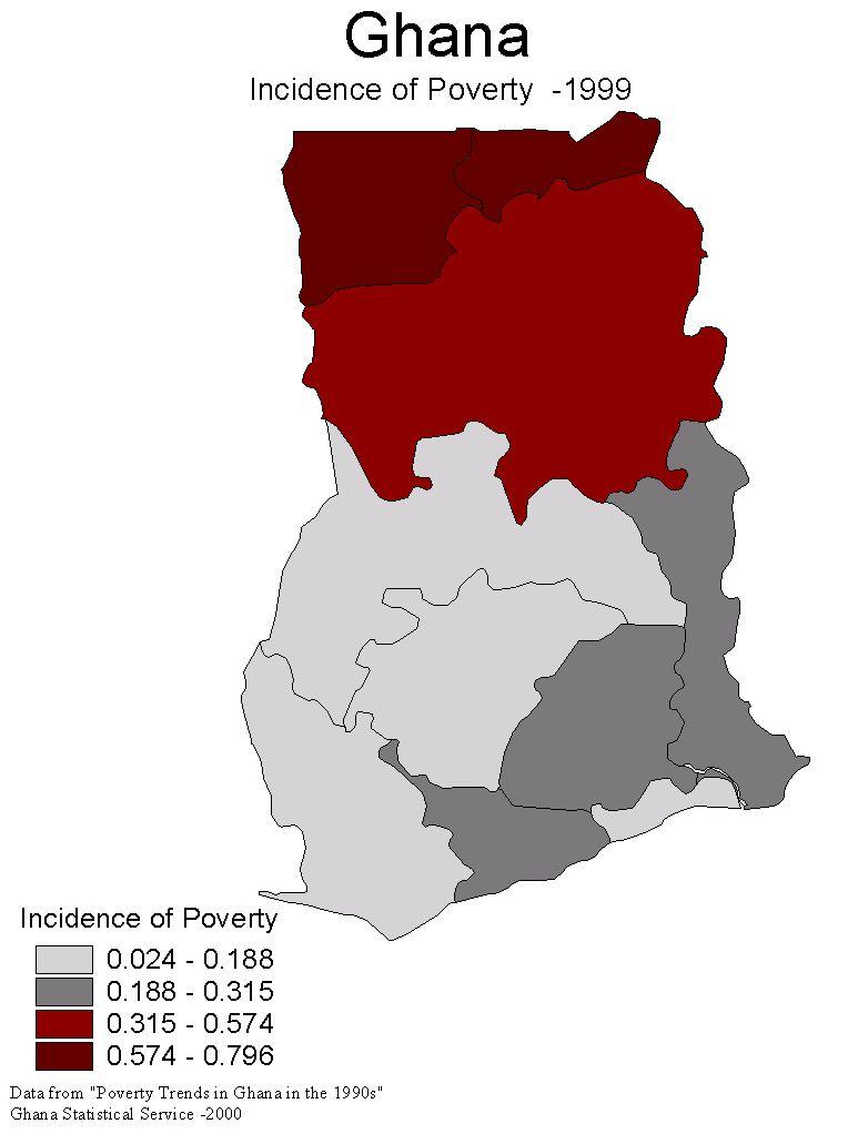 Poverty in Ghana Ghana Development