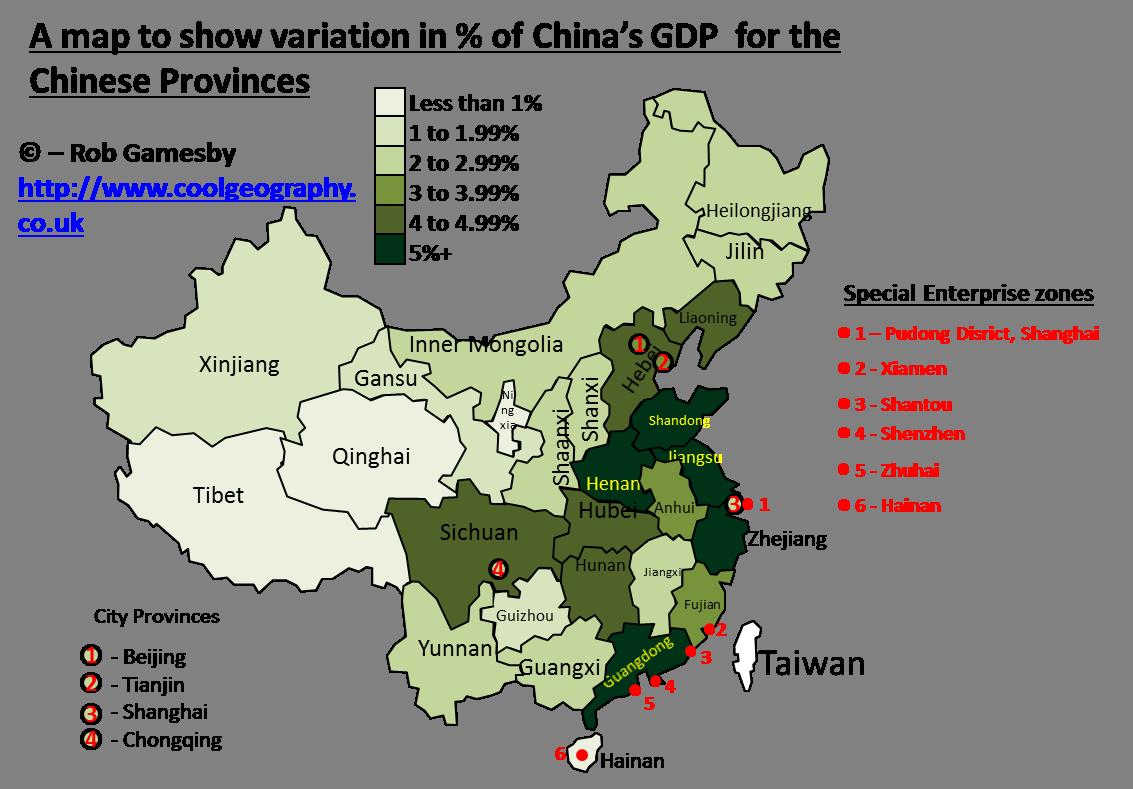 Gdp Of China Map China Japan Map China Growth Map China Income - Chinese a language map