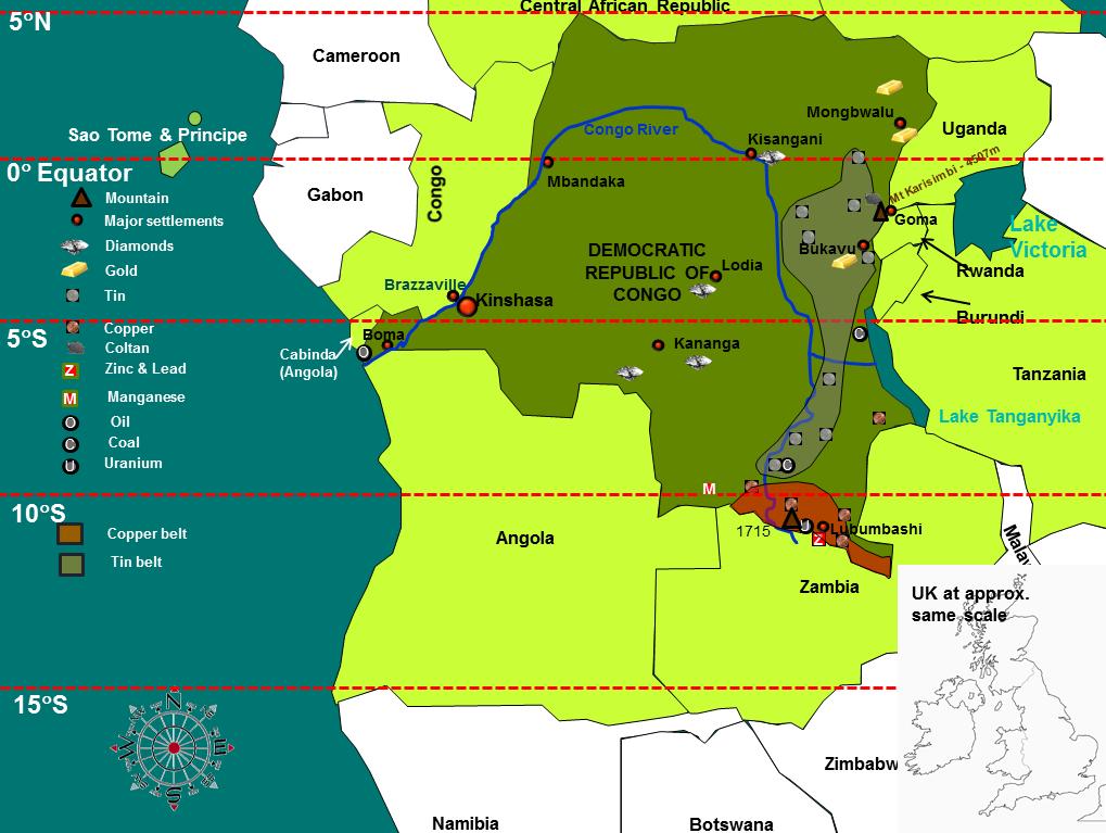 D.R.Congo - an LDC on