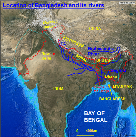 Bangladesh flooding 7 the himalaya also forces relief or orographic rainfall increasing rainfall totals and then river levels further gumiabroncs Images