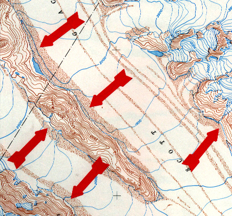 Glacial landforms and maps