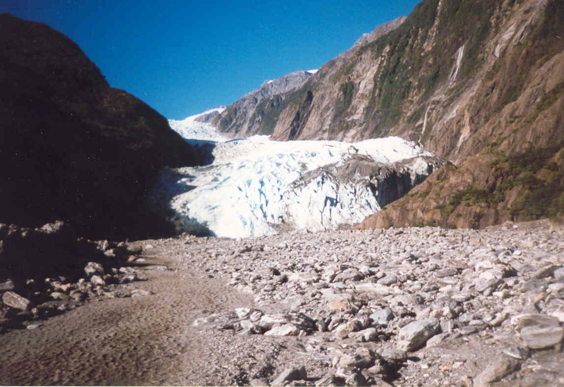 The Build up of Ice and glacial