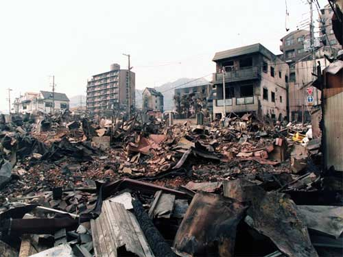 an overview of the effects of earthquakes and the kobe earthquake of 1995 Centered around the 72 earthquake in kobe, japan, in 1995 earthquakes living lab - japan on the effects of large earthquakes and some of the factors.