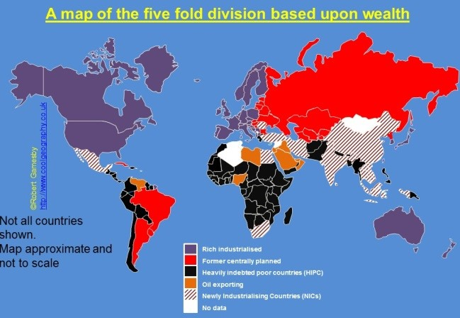 5 fold division wealth