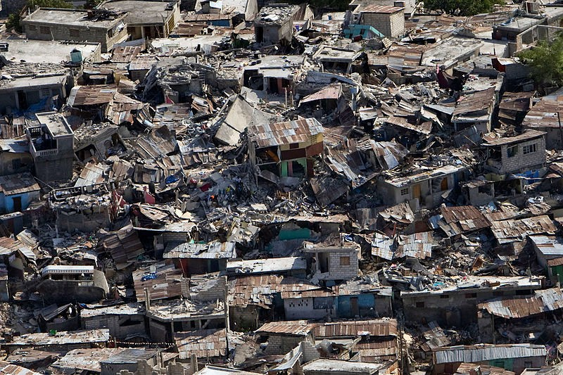 Damage during Haiti Earthquake