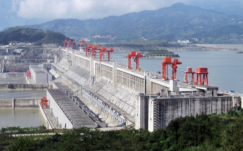 The 3 Gorges Dam