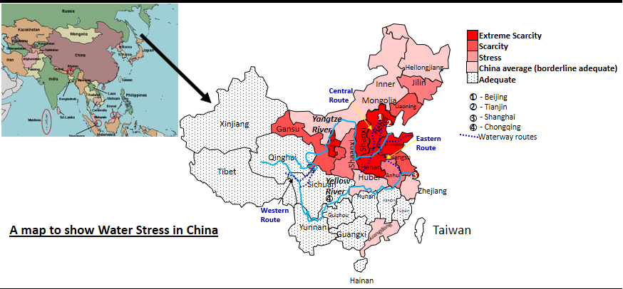 Water Stress in China
